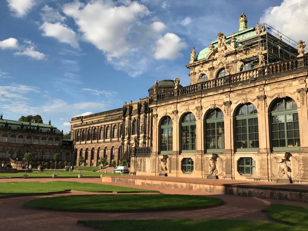 Städtereise, Zwinger, Dresden