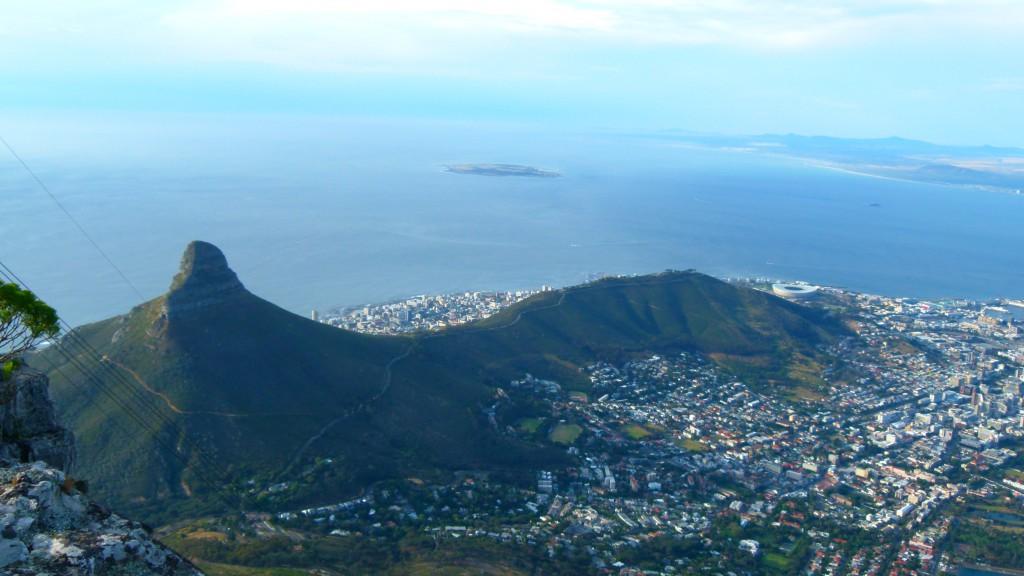 Kapstadt: Blick über Lions Head