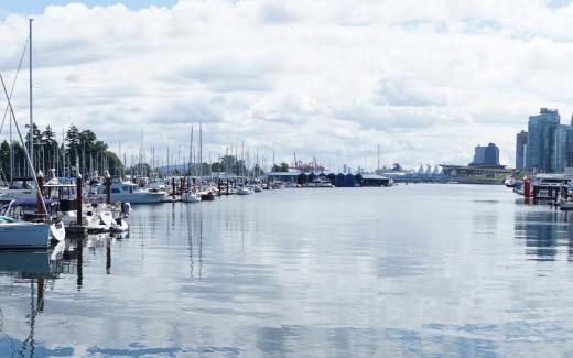 Kanada, Vancouver, Fahrradtour, Coalharbour