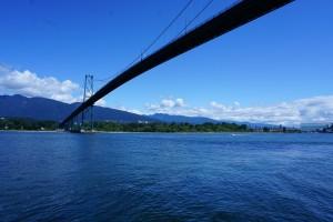 Kanada, Vancouver, Fahrrad, Lions-Gate-Bridge, Stanley-Park